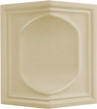 477 - Peremes tányéros sarok 135 (PtS 135)KályhacsempeMéret: 111/111 × 225 × 50 mm
