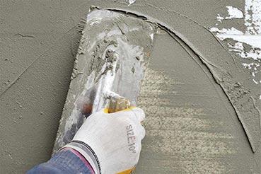 Hőálló ragasztók, kötőanyagok, betonok, vakolatok