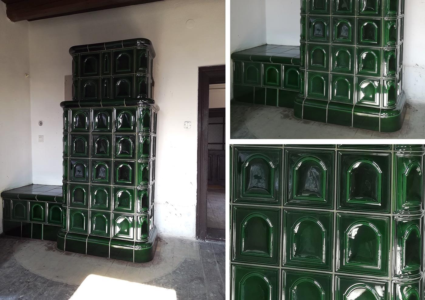 """""""Kucorodós"""" cserépkályhát építettünk egy százéves parasztházba"""