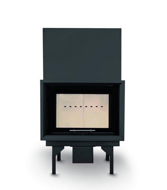 Flamen SIGMA 70V F liftes, design üveges kandallóbetét